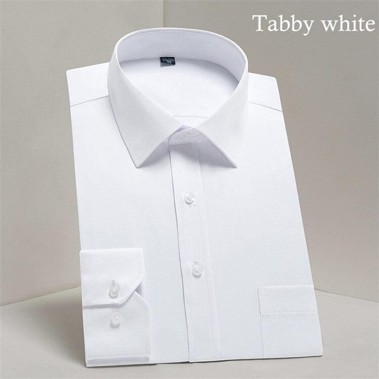 HTB1.iOeBVmWBuNjSspdq6zugXXad - 2019 Men Dress Shirt Long Sleeve Slim Brand Man Shirts