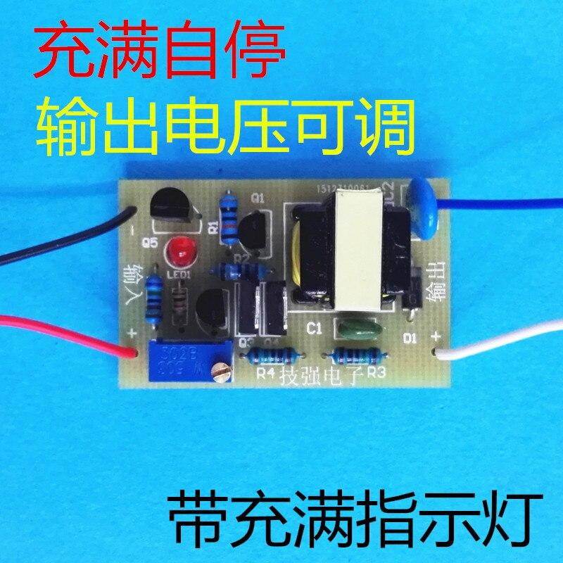 DC-DC высокое Напряжение Boost модуль звс зарядка конденсатора 3,7 В Boost 600 В