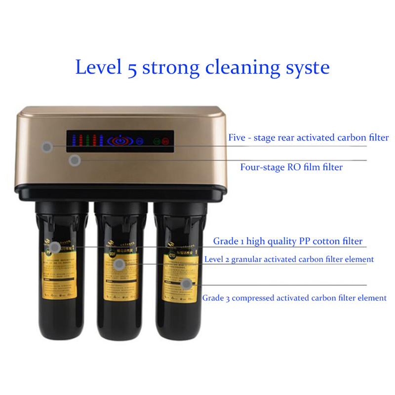 Scale inhibition intelligent household water purifiers A6 water purification machine water filter replacement remind water puri фильтры помпы source water purification 13 m6 pp