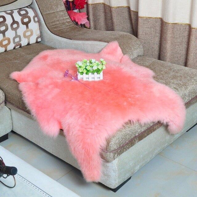 Rosa Echt Australien Schaffell Echte Schafe Haut Decke Fell Kissen