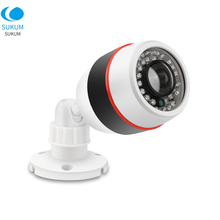 Plastic Bullet 180 Degree IP Camera Fisheye 1.7mm Lens 32Pcs IR Leds 5MP Security Surveillance Network XMEYE APP
