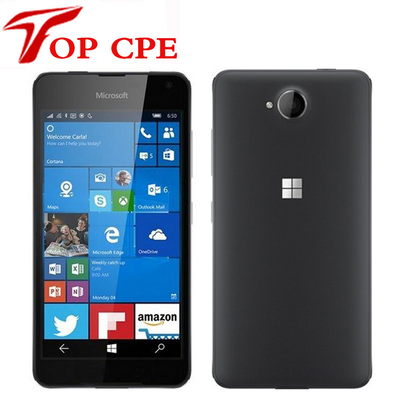 Cpe Discount Store >> Original Nokia Microsoft Lumia 650 Quad core 16GB ROM 1GB RAM mobile phone 4G WIFI GPS 8MP 720P ...