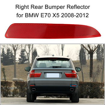Right/Left Optional Rear Bumper Reflector Red Lens for BMW E70 X5 2008-2012 OEM:63217158950 image