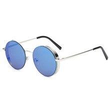 Для женщин классические круглые солнцезащитные очки в стиле панк Солнцезащитные очки Для мужчин UV400 женский аксессуар солнцезащитные очки Очки для походов