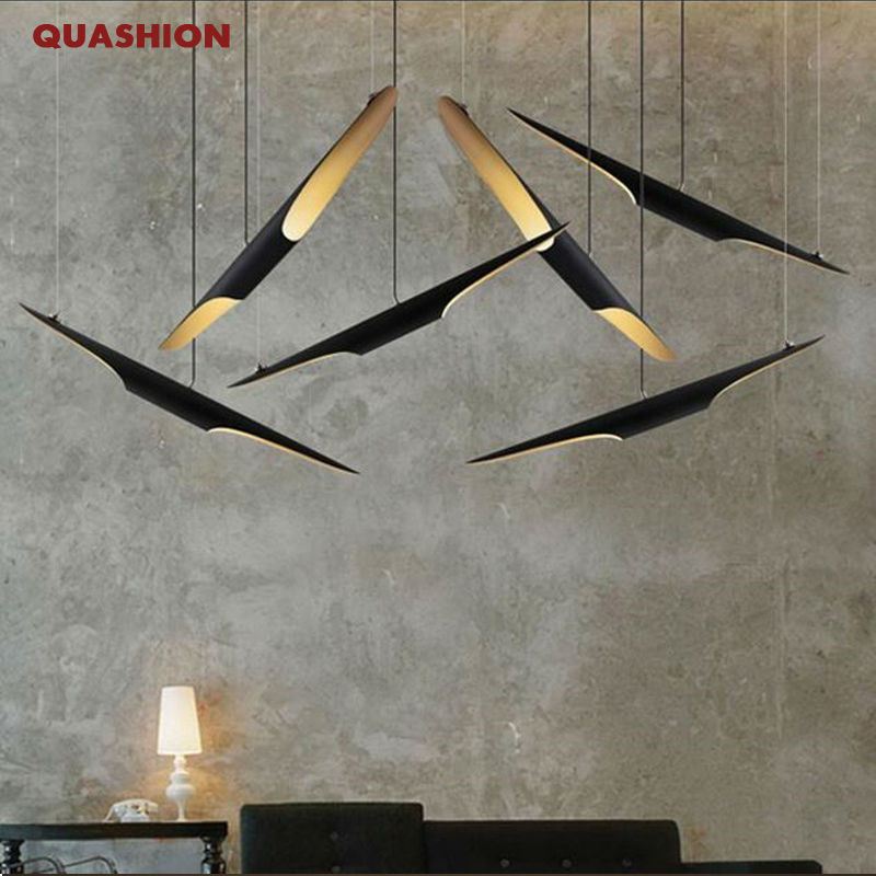 Nordic 60cm bamboo shape aluminum pipe pendant light modern dinning/living room clothing shop creative led droplight fixture