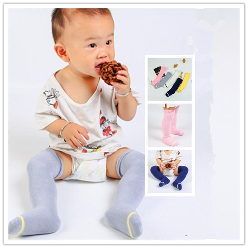 5 pares otoño e invierno algodón grueso calcetines de bebé niña - Ropa de bebé