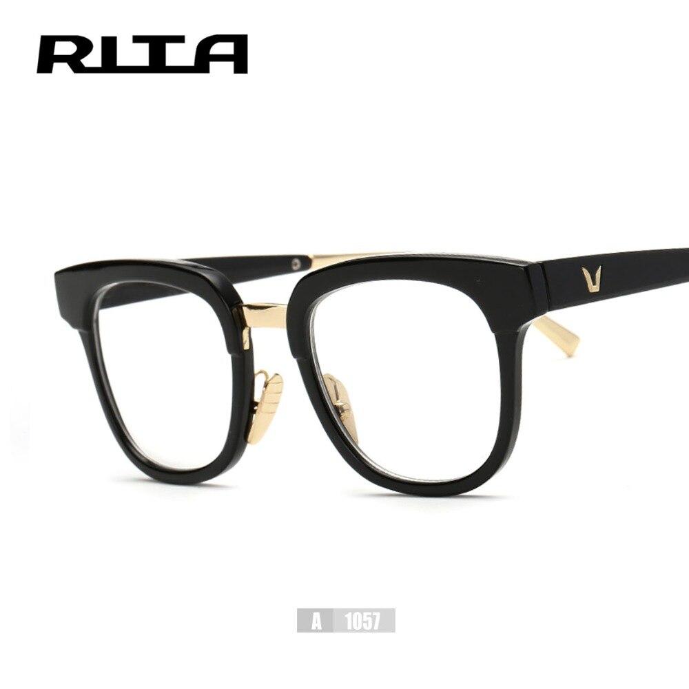 Nuevo Retro V Gafas de Marca Marco Rita Gran Tamaño Cuadrado A1057 ...