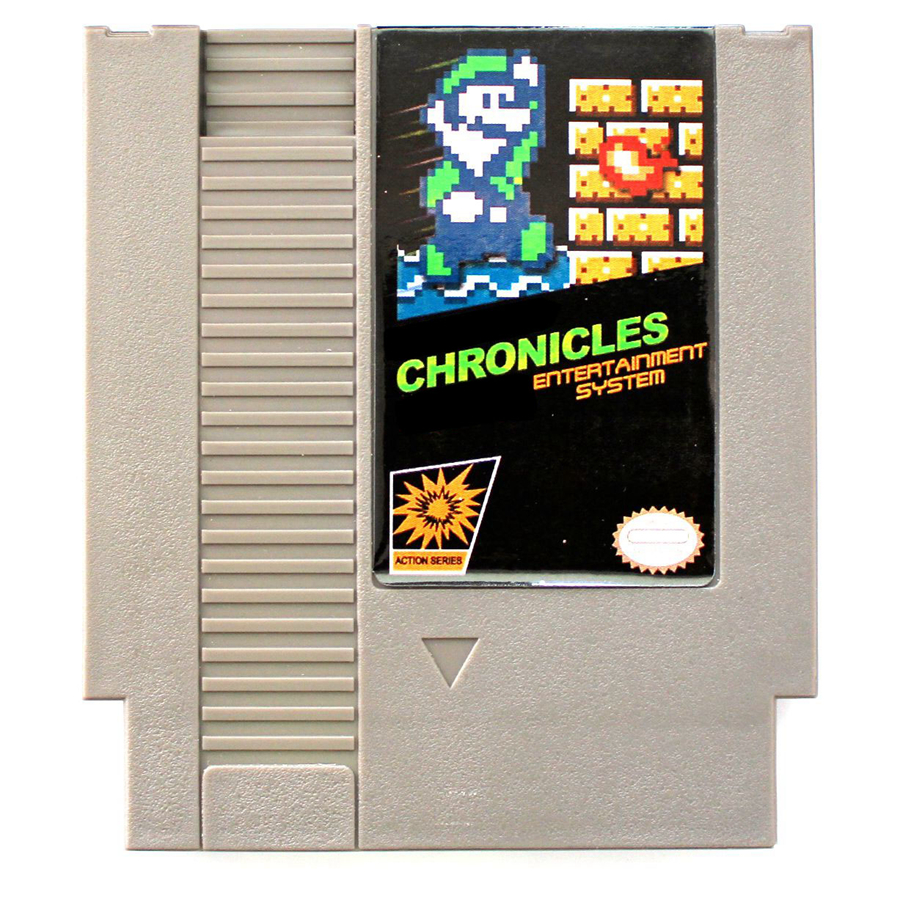 Luig's Chronicles 72 Pins Game Card For 8 Bit Game Player