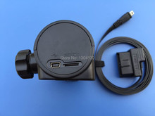Free shipping BST10 GPS/Car recorder/Car e dog power supply cable inverter from OBD connector