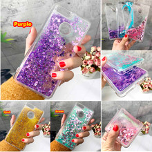 Case For Huawei Y5 Y6 Y7 Y9 2017 2018 Liquid Quicksand Silicon Case For Huawei Nova 2 2S 2I 3E G7 G8 G9 Plus TPU Cover Coque(China)