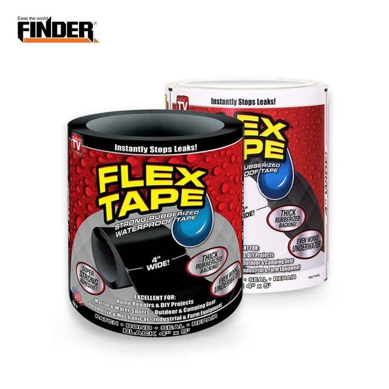 FINDER 153cm Super Strong Flex Leakage Repair Waterproof Tape For Garden Hose Water Bonding Fast Rescue Quickly Stop Tool