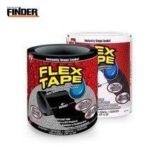 FINDER 153cm סופר חזק להגמיש תיקון דליפה עמיד למים קלטת עבור גינה צינור מים מליטה הצלה מהירה במהירות להפסיק כלי