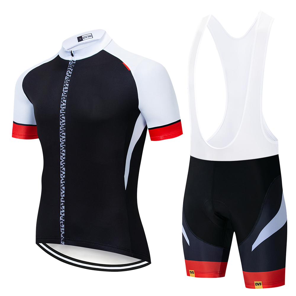 2019 Mavic Brand Quick-Dry Cycling Jersey Set MTB Road Bicycle Clothing Breathable Mountain Bike Clothes Cycling Set
