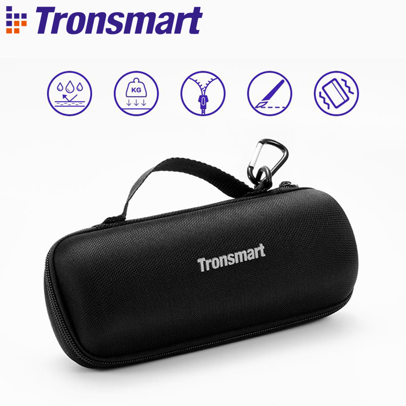 Original Tronsmart Element T6 Carrying Case Mesh Speaker Cover Speakers Accessories for T6 Portable Speaker