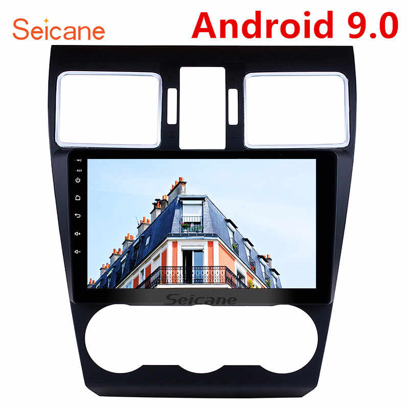"Seicane 9"" 8 core Android 9.0 2din Car Radio Stereo Audio Multimedia Player GPS Head Unit for 2014 2015 2016 Subaru WRX forester"