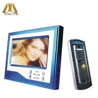 Good Quality Home Security 7 inch LCD Video Door Phone Doorbell Intercom Video System With 750TVL IR Camera V7D D(B)