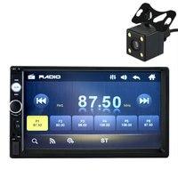 7 Inch HD Bluetooth Screen Car 2 DIN MP5 USB AUX FM With Reversing Camera