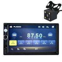 7 Inch HD Bluetooth Screen Car 2 DIN MP5 USB AUX FM With Reversing Camera