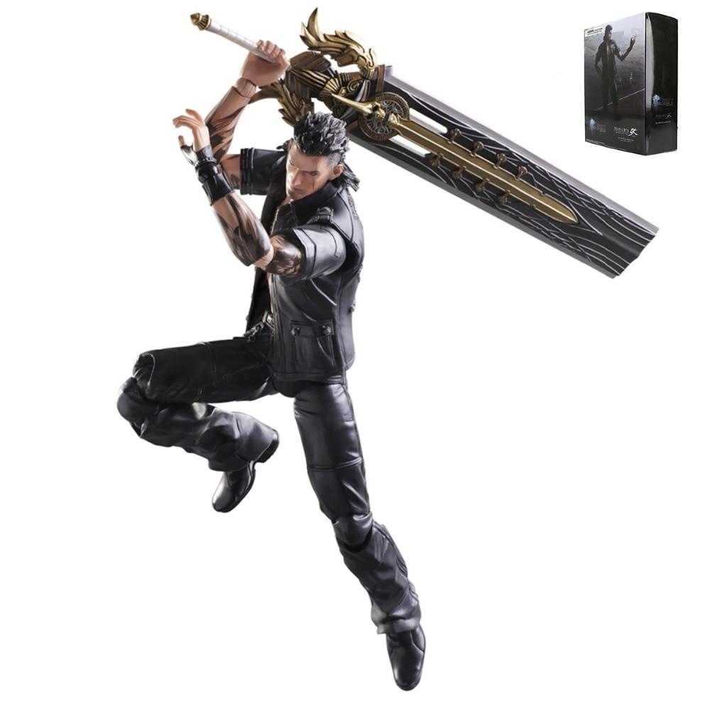 Final Fantasy 15 Play Arts Kai GLADIOLUS AMICITIA Action Figure Free Shipping