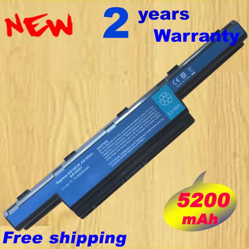4400mah Battery For Acer Aspire New75 E1 V3 5252 5252G 5253 5253G 5333 5333G 5336G 5336T 5336G 5551 5551G 5552G 5552TG 5552Z-in Laptop Batteries from Computer & Office