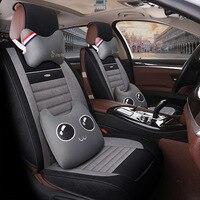 Cartoon super cute car seat cushion Cute new seasons mat winter seat cushion seat car interior products