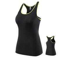 Mulheres Camisas Em Execução De Fitness Gym Regatas Sem Mangas Esportes Colete Yoga Top Tshirt Camisolas Elásticas de Compressão de Secagem rápida Colete