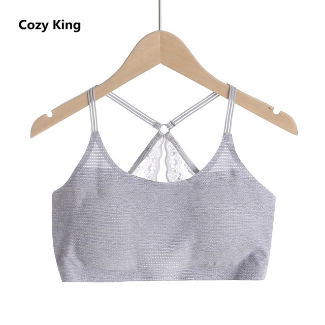 a9286ac82 Cozy King bandeau women 2018 hot new casual fashion wild solid color  movement lady lace sexy no trace with chest pad underwear