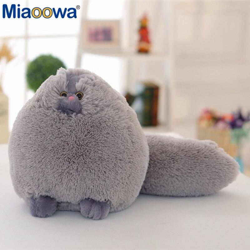 1 pc 50 cm offre spéciale gros chats moelleux chat persan en peluche jouet enfants jouets doux Peluches animaux poupées cadeau pour les enfants