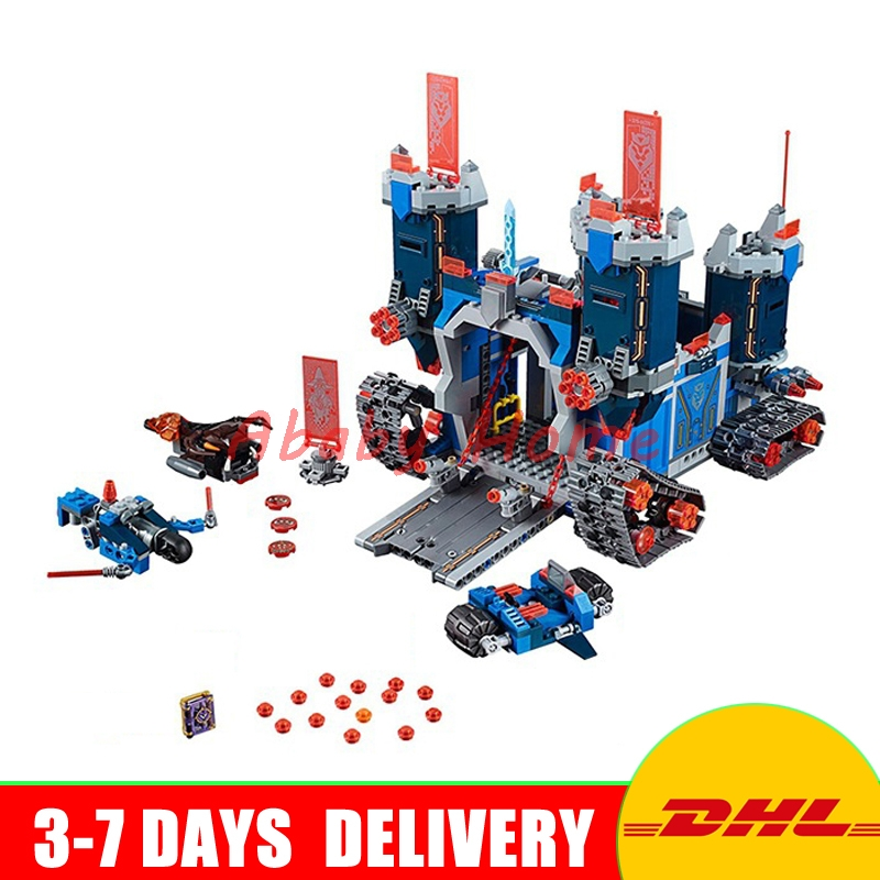 DHL Lepin 14006 1115pcs Nexus Knights Clay Aaron Fox Fortrex Castle Education Building Blocks Bricks Toys Compatible 70317 lego education 9689 простые механизмы