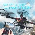 JJRC Borracha Pintura Da Fuselagem Quadcopter FPV Zangão com Câmera HD WI-FI Dron Remotamente Ajustável Controle Remoto Brinquedos RC Helicóptero