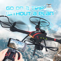 JJRC Rubber Paint Fuselage Quadcopter FPV Drone With Camera HD Remotely Adjustable WIFI Dron Remote Control