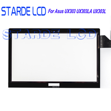 UX303 Touch Screen Digitizer Glass Panel Replacement Parts For Asus Zenbook UX303LA DB51T TP300 TP303 TP300L TP300LA TP300LD-DW0