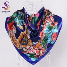 Satijnen sjaal haar