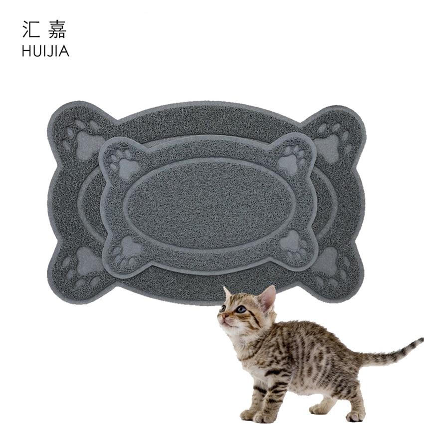 Pet Mat Puppy Cat Feeding Mat Dog Toilet Self Clean Rug
