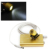 Xmas Venda Quente Amarelo 3.5x420 SY-25 Dental Laboratório Óculos Cirúrgicos Lupas Binoculares + LED Head Light Lamp Novo VENDA QUENTE