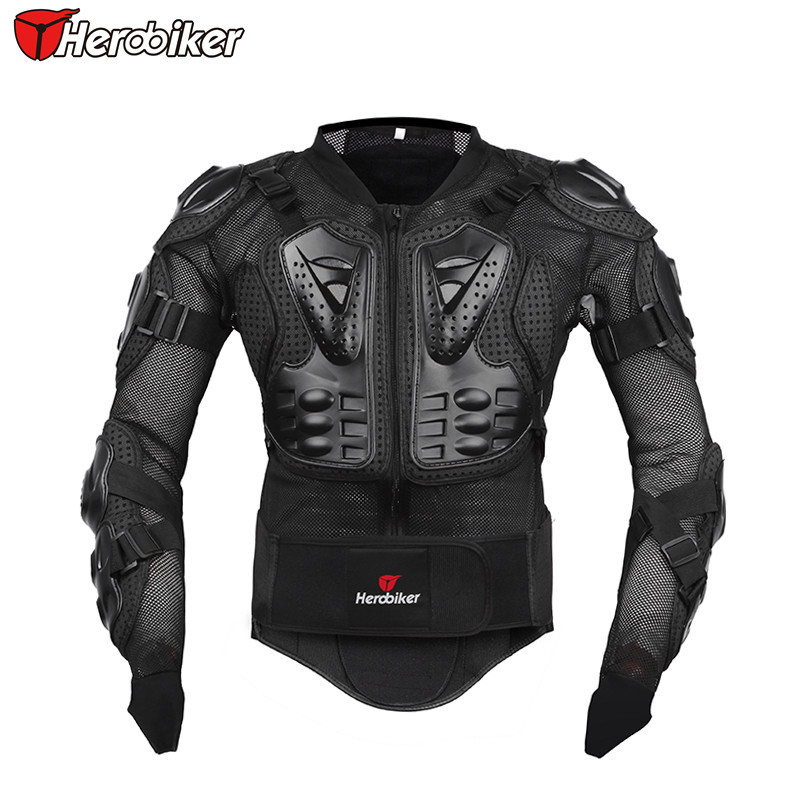 Hommes complet corps moto armure moto veste Motocross course équipement de Protection moto Protection - 2