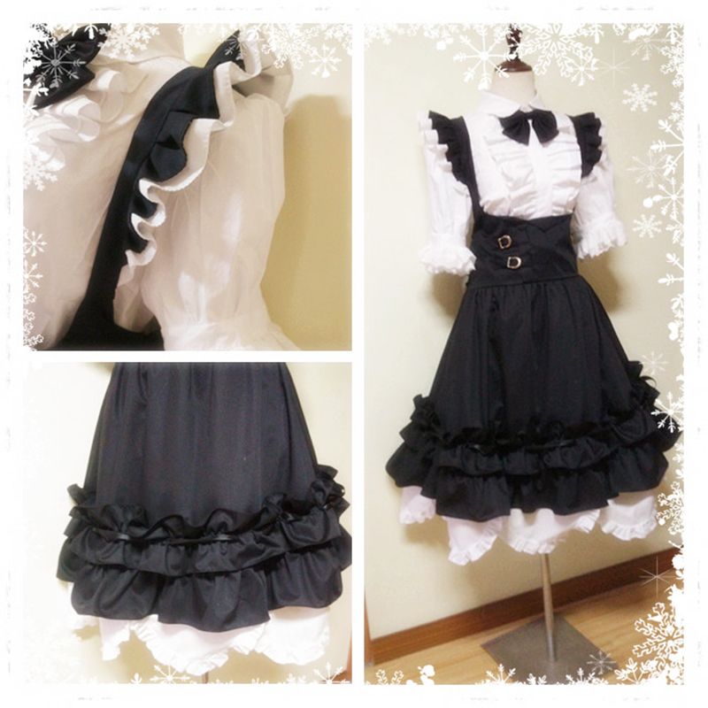 Game Final Fantasy XIV FF14 Miqo'te Cosplay Costume Halloween Christmas Carnival Sexy Dress Maid Servant Uniform Custom Made