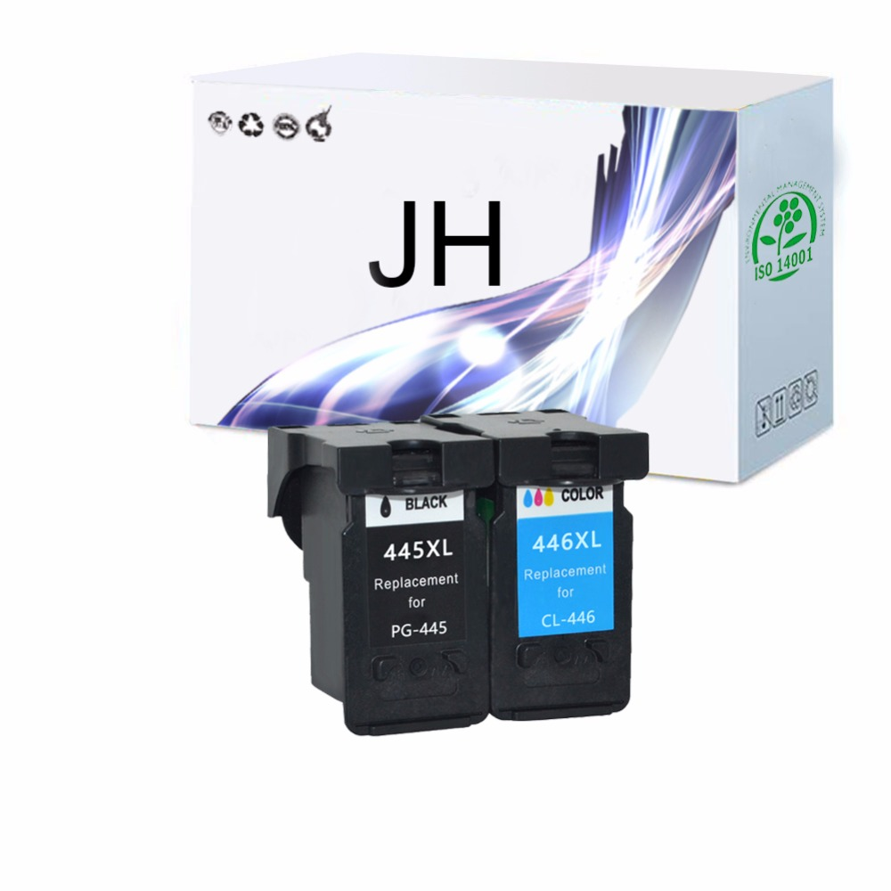 JH For Canon 445 PG 446 Ink Cartridge For Canon Pixma IP2810 MG2410 MG2540 MG2510 Ink Jet Printer image