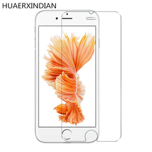 ФОТО huaerxindian 2.5d 9h tempered glass for iphone 6 6s + plus screen protector protective film 5.5