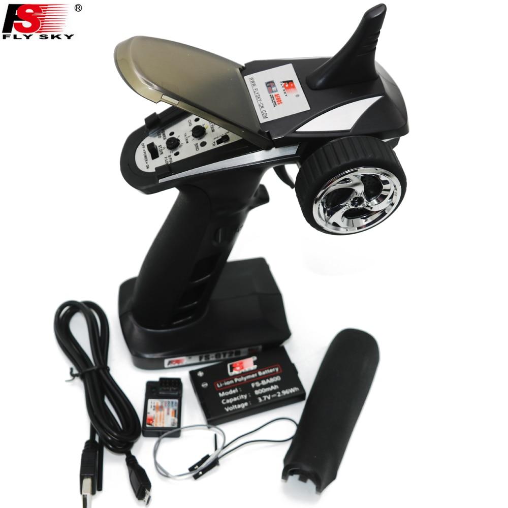 FS GT2B FS GT2B 2 4G 3CH Gun RC Controller w receiver TX battery USB cable
