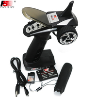 FS GT2B FS GT2B 2.4G 3CH Gun RC Controller /w receiver, TX battery, USB cable, handle Upgraded FS GT2 GT2