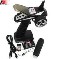 FS-GT2B FS GT2B 2.4G 3CH Gun RC Controller /w receiver, TX battery, USB cable, handle --Upgraded FS-GT2 GT2