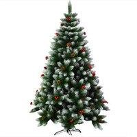 1.8 메터/180 센치메터 혼합 소나무 과일 레드 과일 크리스마스 트리 크리스마스 쇼핑몰 호텔 홈 장식 장식