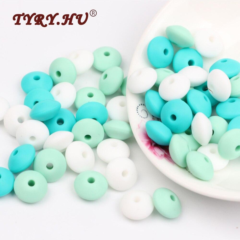 TYRY.HU Food Siliconen Abacus Kralen 60 Stks Baby Tandjes Verpleging - Baby verzorging - Foto 1