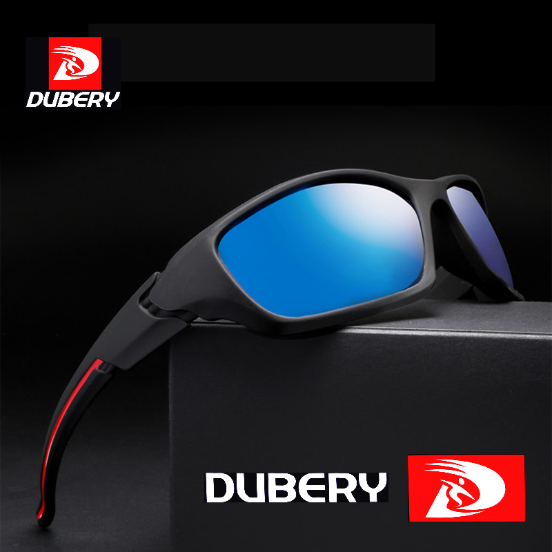 DUBERY New Polarized Sunglasses Sport Sunglasses Men Fashion Male Eyeglass Sunglassses S ...