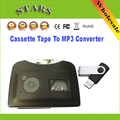 Mini Protable USB cassete fita Magnética para mp3 Driver Flash USB jogador conversor para gravador de captura, Por Atacado Frete Grátis