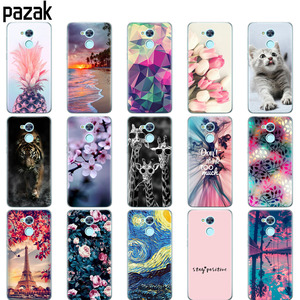 case for huawei honor 6A case coque soft tpu silicone back cover on for honor 6 a copas bumper 360 full protective fundas cute(China)