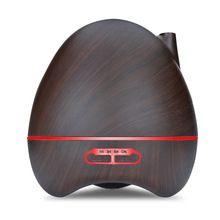 300ml Aroma Essential Oil Diffuser Ultrasonic Air Humidifier 7 Color Changing LED lamp Wood Grain Aromatherapy Mist Maker цена и фото