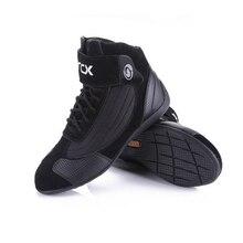 ARCX короткие сапоги для мотоцикла из коровьей кожи гоночная обувь уличная мото мотоцикл велосипед Мотокросс Чоппер сапоги мотоботы
