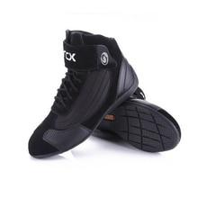 ARCX bottes courtes de Moto, chaussures en cuir de vache, pour course de Motocross, pour Motocross Chopper